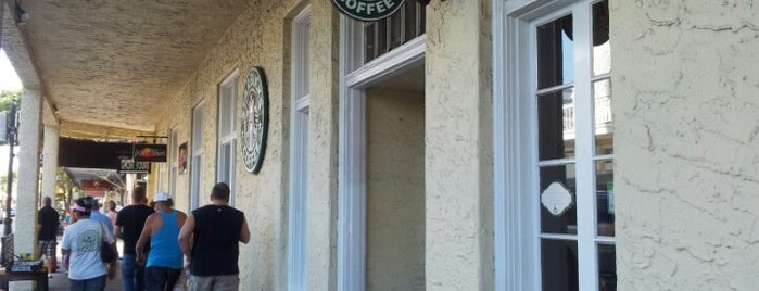 Starbucks is one of Key West.