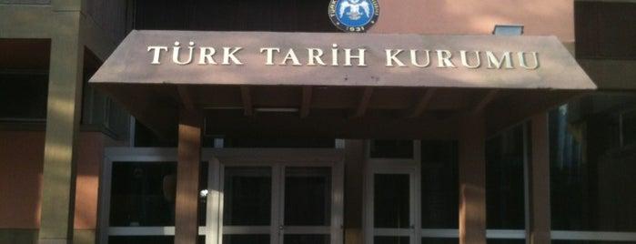Türk Tarih Kurumu is one of Tempat yang Disukai Firat.