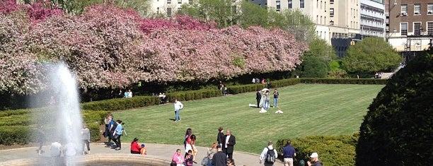 Conservatory Garden is one of NY.