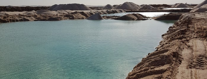 Siwa Salt Lakes is one of Recomended 4.