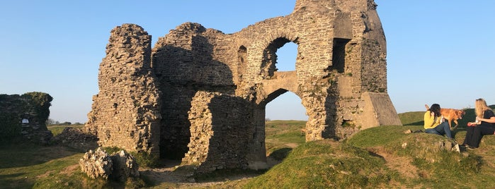 Pennard Castle Ruins is one of Wales.