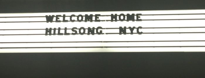 Hillsong NYC is one of NYC Chelsea.