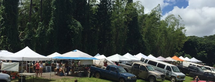 Kilauea Farmer's Market is one of Kauai.