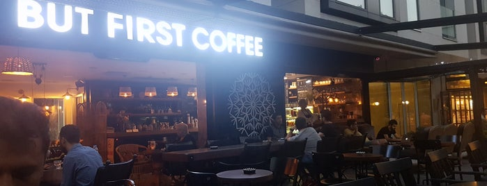 But First Coffee is one of İstanbul.