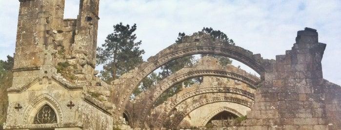 Ruinas de Santa Mariña do Dozo is one of Para visitar.