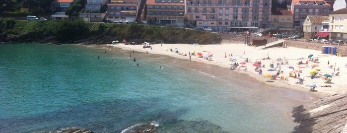Praia de Caneliñas is one of Sanxenxo.