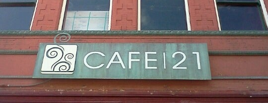Cafe 21 Gaslamp is one of Eat like Kevin & Darrell.