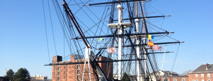 USS Constitution is one of Boston: Fun + Recreation.
