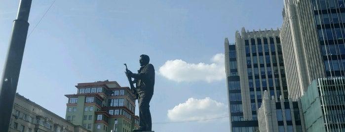 Памятник М. Т. Калашникову is one of Posti che sono piaciuti a Jano.