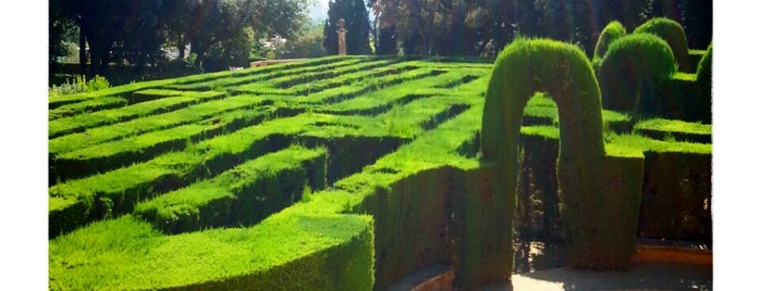 Parc del Laberint d'Horta is one of Barcelona.