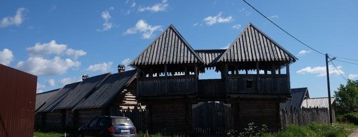 стрелецкий острог is one of Alexandra Zankevich ✨ : понравившиеся места.