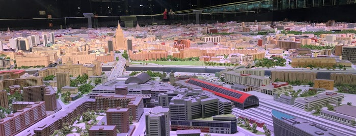 Макет Москвы is one of Lugares guardados de Ksu.