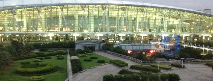 Guangzhou Baiyun International Airport (CAN) is one of Airports Visited.