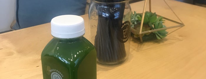 Daily Press Juicery is one of Lugares favoritos de MC Ulle.