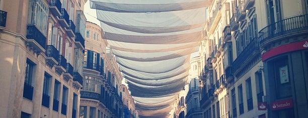 Calle Marqués de Larios is one of Malaga, Spain.