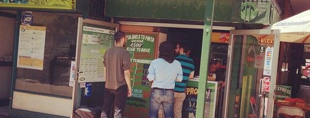 Salad Express is one of Restaurantes, Bares, Cafeterías y Mundo Gourmet.