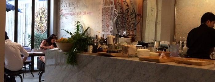 Quest Connaisseur Café is one of Bangkok Gastronomy.