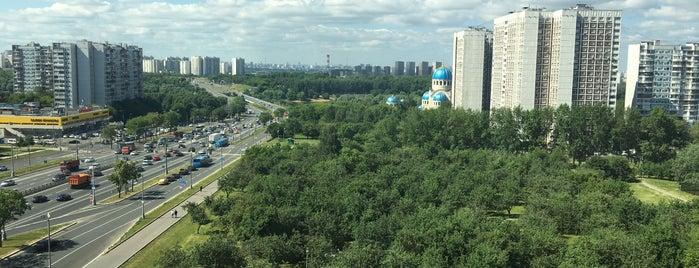 ТРЦ «Каширская Плаза» is one of สถานที่ที่ Алексей ถูกใจ.