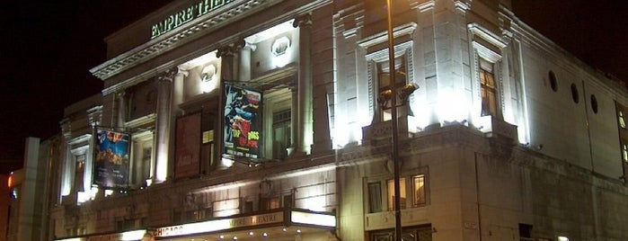 Liverpool Empire Theatre is one of Locais curtidos por Louise.