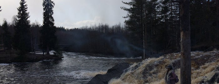 Водопад Хелюля is one of ⛰ сердоболь.