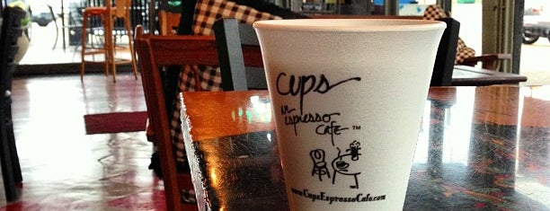 Cups, an Espresso Café is one of Road trip.