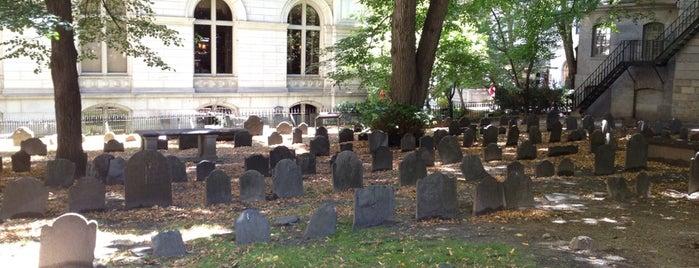 King's Chapel Burying Ground is one of Boston: Fun + Recreation.