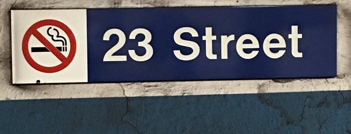 23rd Street PATH Station is one of Been Here.