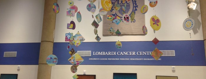 Lombardi Cancer Center is one of al's Liked Places.