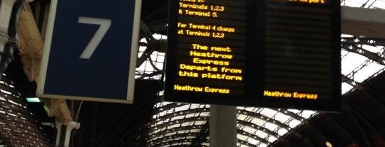 Platform 7 (Heathrow Express) is one of London.
