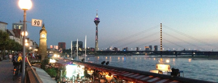 Rheinuferpromenade is one of Düsseldorf🇩🇪.
