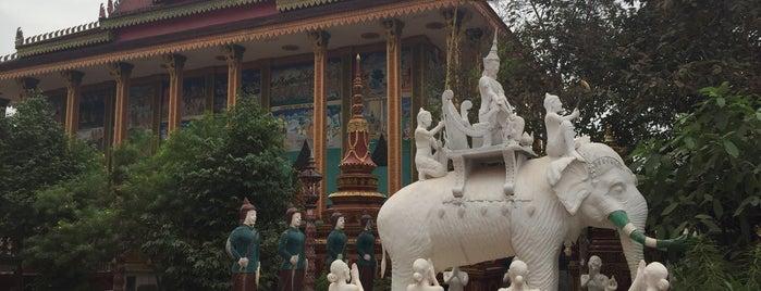 Po Banteaychey Pagoda is one of สถานที่ที่ Maria ถูกใจ.