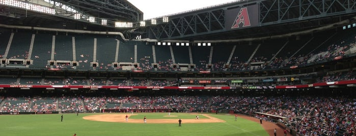 Chase Field is one of MLB parks.