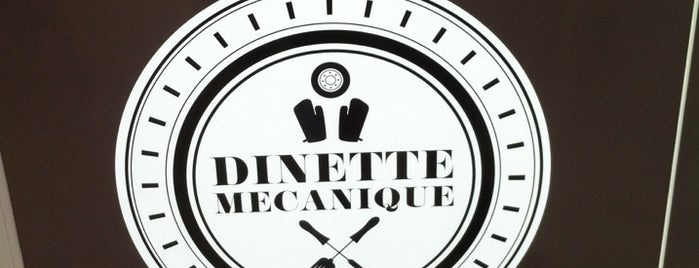 La Dinette Mecanique is one of Liste Paris Salé.