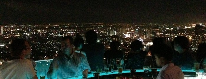 Sky Bar is one of Bangkok🌃.