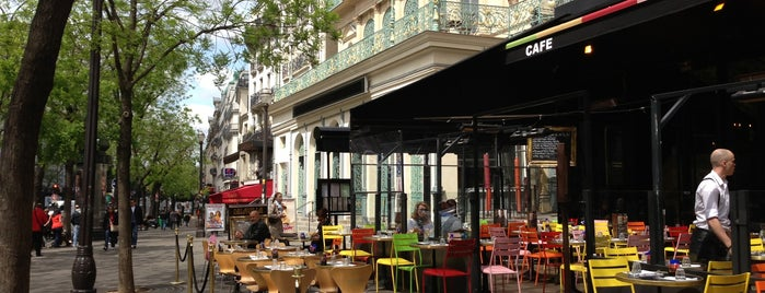 Delaville Café is one of Paris delights.
