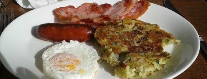 The Corner Cafe is one of Breakfast/Brunch in London.