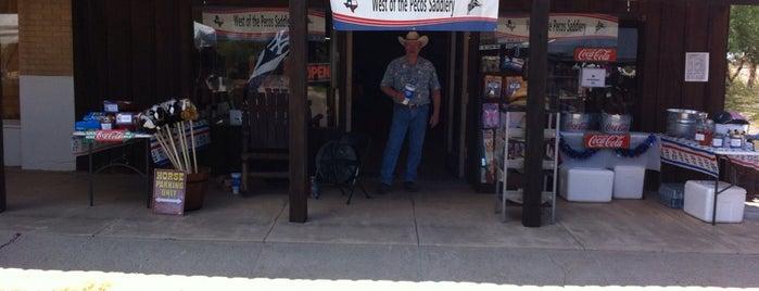 West Of The Pecos Saddlery is one of Tiffany : понравившиеся места.