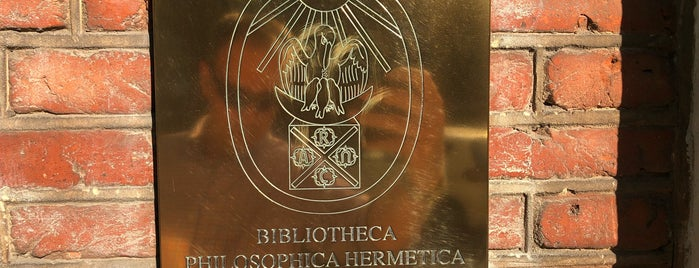 Ritman Library - Bibliotheca Philosophica Hermetica is one of Locais salvos de Kiritan.