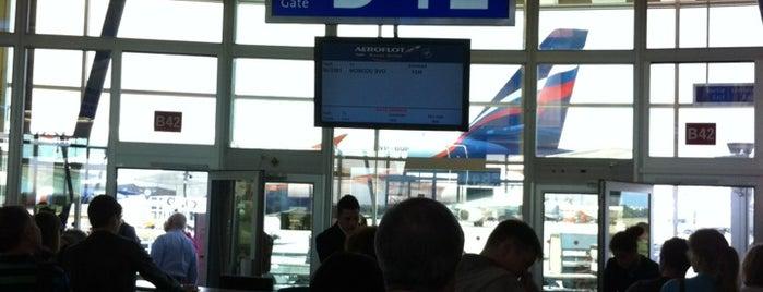 Gate B42 is one of Geneva (GVA) airport venues.