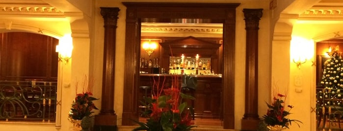 River Palace Hotel Rome is one of Lieux qui ont plu à Marcelo.