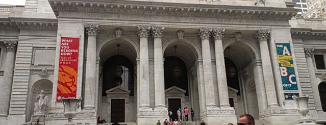 New York Public Library is one of New York TOP Places.