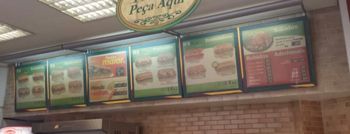 Subway is one of Minha lista.