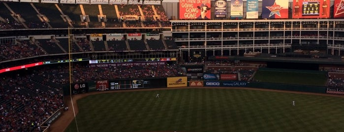 Globe Life Park in Arlington is one of Pro Stadiums in Texas.