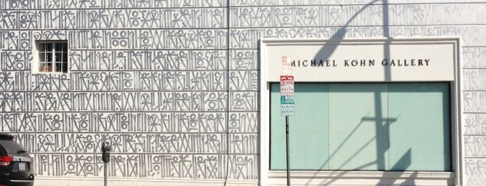 Michael Kohn Gallery is one of everybody loves WeHo.
