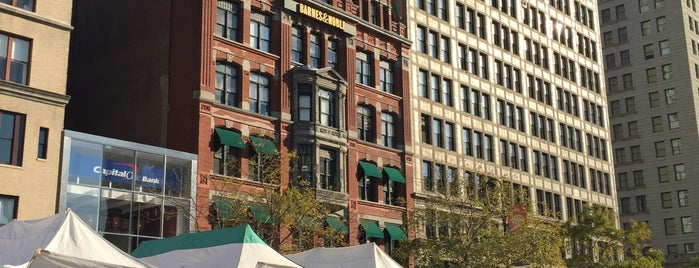Union Square Greenmarket is one of The Foursquare Insider's Perfect Day in NYC.