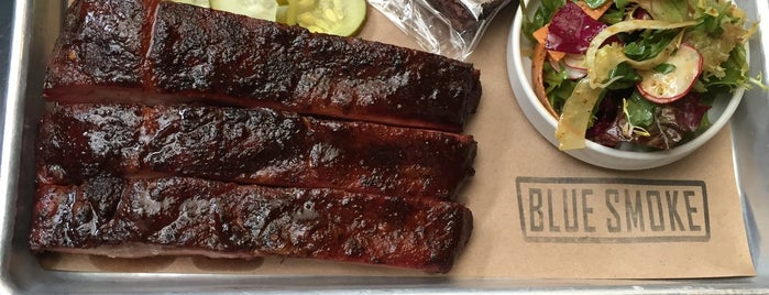 Blue Smoke is one of NYC's Top BBQ Joints.
