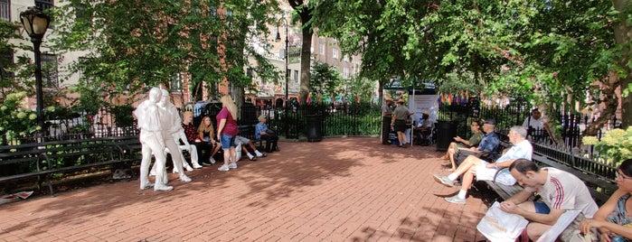 Gay Liberation Monument by George Segal is one of NYC_Foodie-Restos-Wine-Beer.
