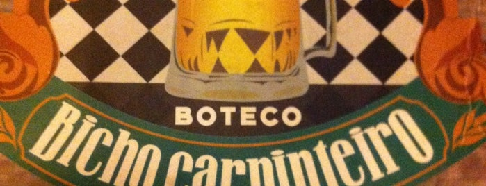 Boteco Bicho Carpinteiro is one of Thiago : понравившиеся места.
