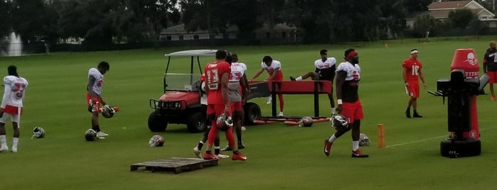 Bucs Training Camp is one of My FAV Hot Spots.