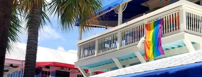 Lucy's Retired Surfers Bar and Restaurant is one of Florida Keys.